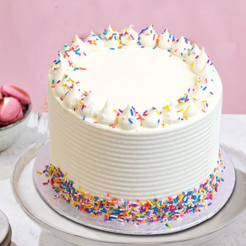 Online Vanilla Cake from 3/4 Star Bakery