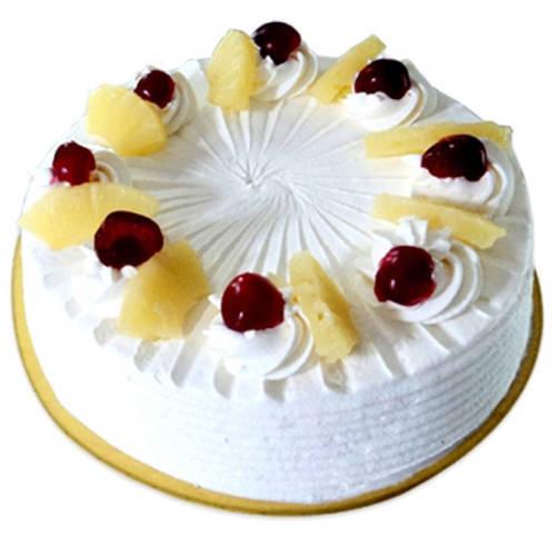 Gift Eggless Pineapple Cake Online