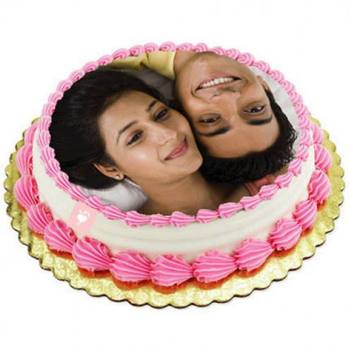 Gift Eggless Photo Cake Online