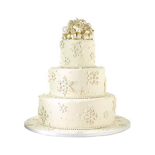 Gift Online 3 Tier Wedding Cake