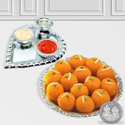 Haldiram Ladoo N Thali , Free Coin