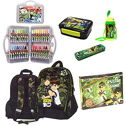 Attractive Ben 10 School Kit