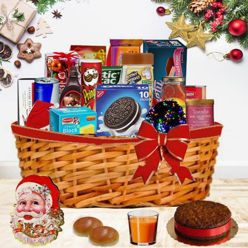 Mouth Watering Christmas Gift Basket