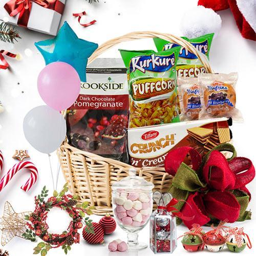 Delicious Choco Christmas Basket