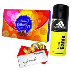 Celebration Pack of Chocolate, Deo and Pantaloons Voucher