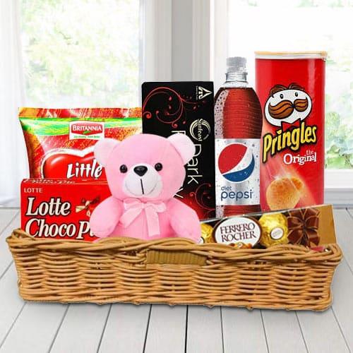 Online Gift Basket of Gourmet Treats