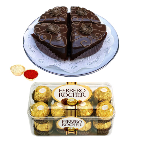 Gift of Ferrero Rocher Chocolates N Pastries