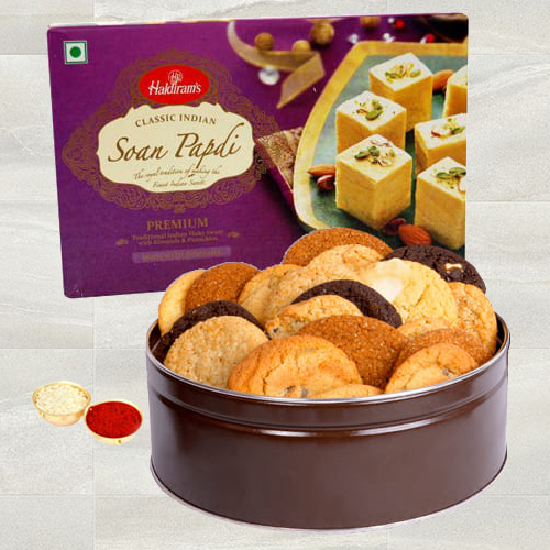 Haldirams Soan Papdi N Assorted Cookies
