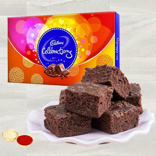 Gift of Cadbury Celebrations N Brownie