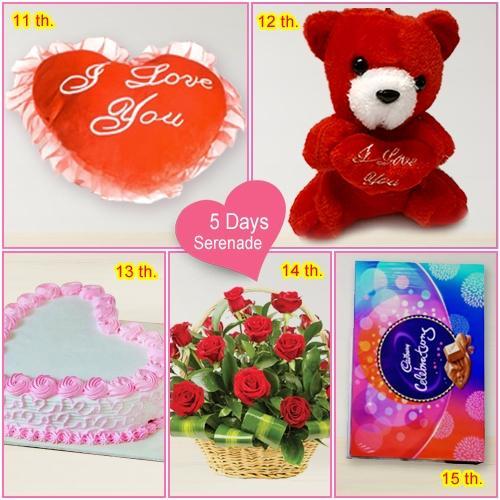 Order Online 5 Day Serenade Gift