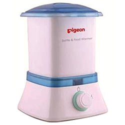 Trendy Bottle and Baby Food Warmer from Pigeon