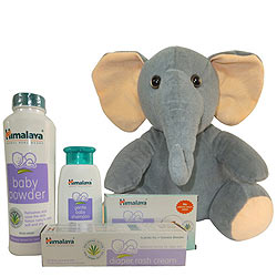 Wonderful Baby Care Gift Jar from Himalaya with Warm Indulgence