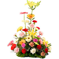 Online Mixed Flower Arrangement