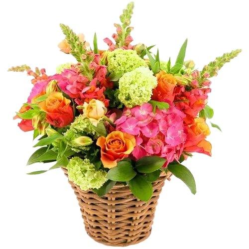 Tropical Mix Arrangement of Fresh Flowers