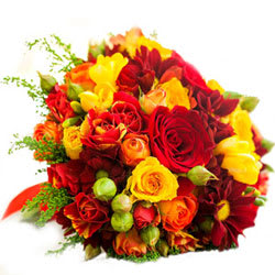 Send Online Bouquet of Mixed Flowers