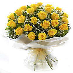 Gift Yellow Roses Bouquet Online