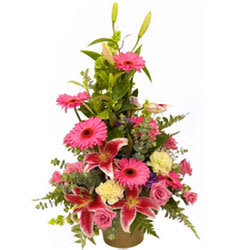 Shop Online Mixed Flowers Arrangement