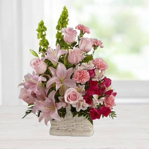 Book Arranged Seasonal Flowers Online