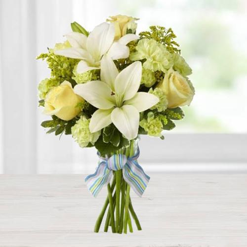 Shop Mixed Flowers Bouquet Online