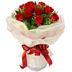 Gift Online Red Rose Bouquet