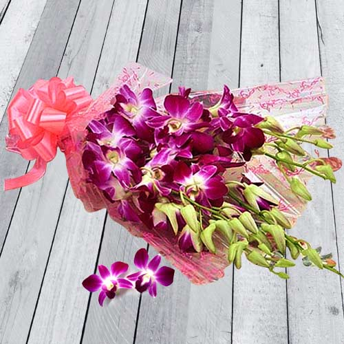 Shop Online Orchids Bouquet