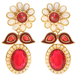 Enticing Big Earring Set for Ladies