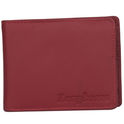 Dashing Brown Coloured Gents Leather Wallet Presented by Longhorn