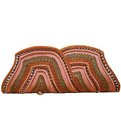 Exotic Spice Art Ladies Purse with Conventional Design