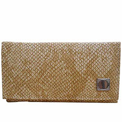Fantastic Spice Art Ladies Beige Clutch