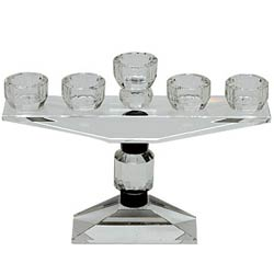Wonderful Crystal Candle Stand for 5 Candles