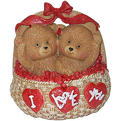 Ready-for-Love Twosome of Teddies