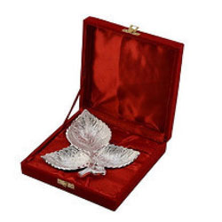 Elegance-to-Enthrall Silver Plated Designer Tray