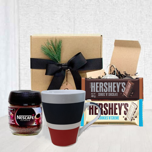 Coffee Time Gift Basket for loving Dad  <br>