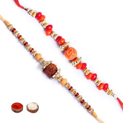 Attractive Bhaiya Rakhi Set