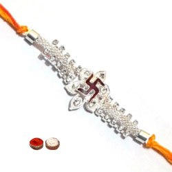 Splendid One Swastic Rakhi