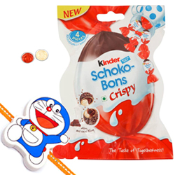 Kinder Joy Schoko Bons with Chota Bheem Rakh