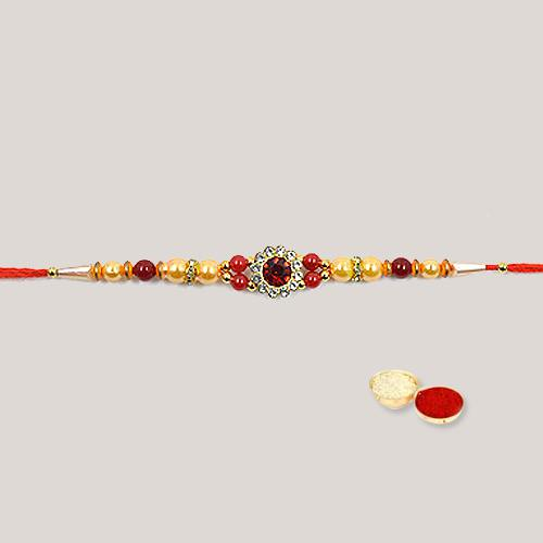 Lovely Wishes with Stylish Raksha Bandhan