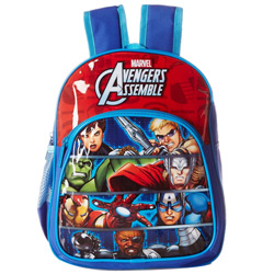 Impressive Choice of Avengers Design Blue and Red Backpack