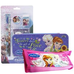 Fabulous Kids Special Disney Frozen Designed Stationery Set