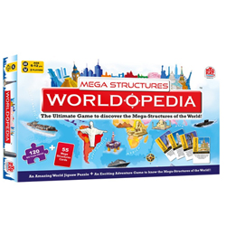 Renown MadRat Games Brings Madzzle Worldopedia Megastructures