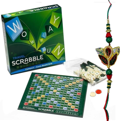 Scrabble –The Word Game with Rakhi and Roli Tilak Chawal