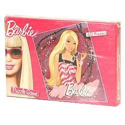 Barbie Puzzle Game