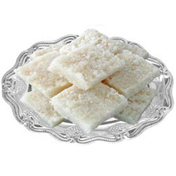 Mouth-Watering Coconut Barfi Pack of 500 gm