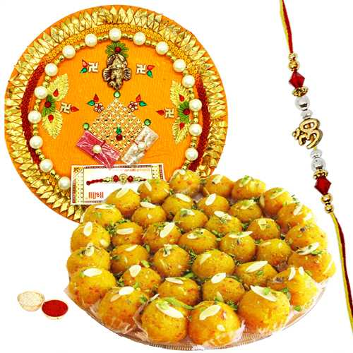 Classic Rakhi Gift with Mesmerizing Charm