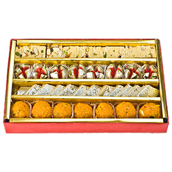 Amazing 250 Gms. Assorted Sweets for Brother