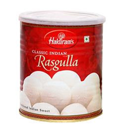 Mouth-Watering 1 Kg. Haldirams Rasgulla Pack