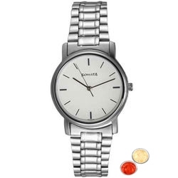 Admirable Gents Watch from Titan Sonata with free Roli Tilak and Chawal