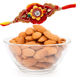 Designer Rakhis and Delight of Almonds