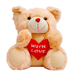 8� Teddy Bear ( White / Pink / Red )